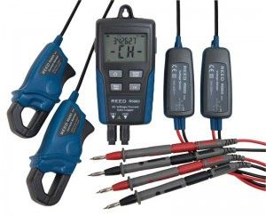 REED R5003 Dual Input True RMS AC Voltage/Current Datalogger