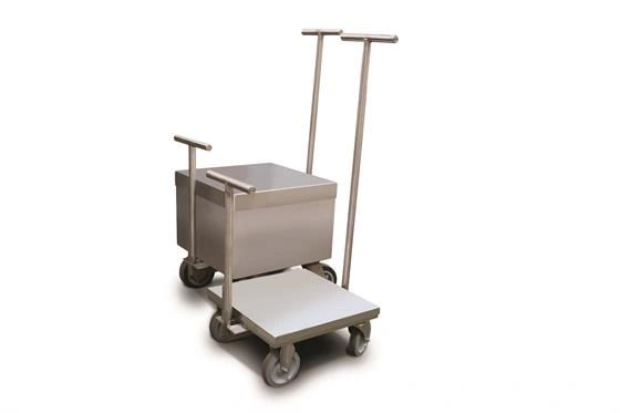 Rice Lake ASTM Class 6 Clean Room Weight Cart