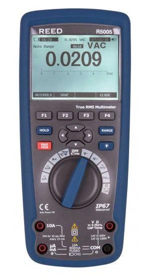 REED R5005 True RMS Bluetooth/Waterproof Industrial Multimeter