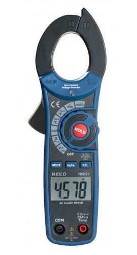REED R5020 400A AC Clamp Meter with Temperature and Non-Contact Voltage Detector