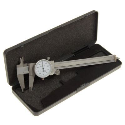 "iGAGING Shock Proof 6"" Stainless Steel Dial Caliper SAE"