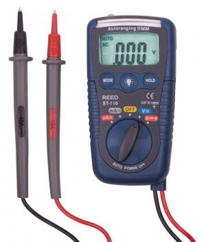 REED R5009 Multimeter with NCV and Flashlight, 3-in-1