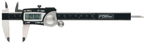"Fowler 6""/150mm Economy Digital Caliper 54-100-000-2"