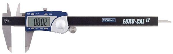"Fowler 6""/150mm Euro-Cal IV Electronic Caliper 54-100-330-1"
