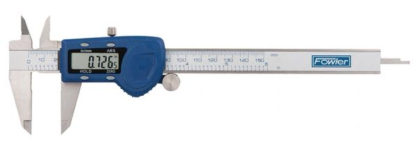 """Fowler 6""""/150mm Xtra-Value Cal Electronic Caliper with Regular Display"""