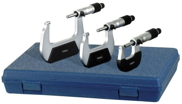 """Fowler 0-4"""" Outside Inch Micrometer"""