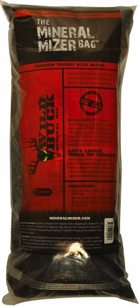 MINERAL MIZER BAG WILD BUCK APPLE MINERAL BLEND