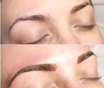 microblading eyebrows in Wilmington, Delaware