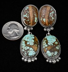 The prettiest Navajo earrings…ever (maybe).—SOLD!