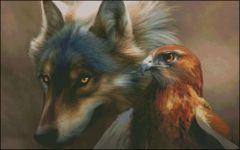 Wolf and Birdie