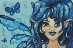 Blue Wonder Fairy