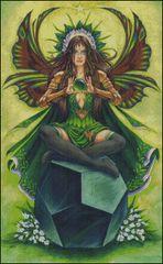 Emerald Fairy Stone Keeper