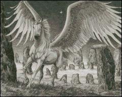 Pegasus at Stonehenge