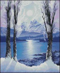 Purple Blue Tranquility