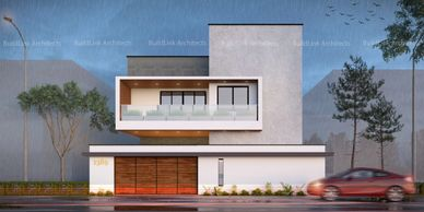 Tiruppur, architecture, 3d visualization, buildlink architects, elevation design, floor plans, house