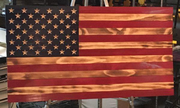 "American Flag 36"""
