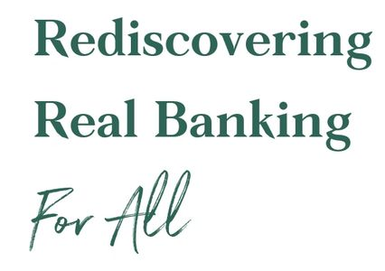 Rediscovering real banking for all logo