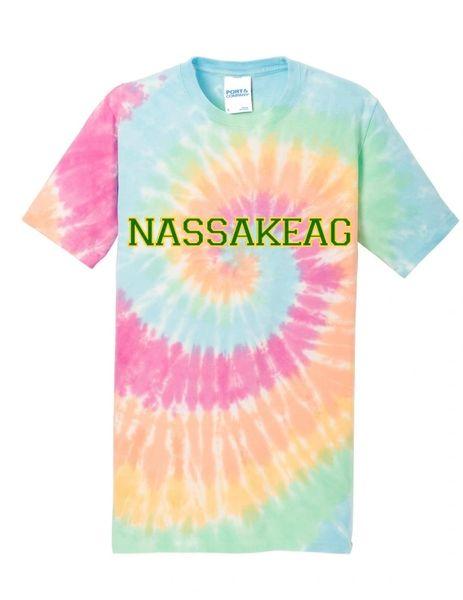 Tie-Dye Crew Neck T-Shirt: PASTEL