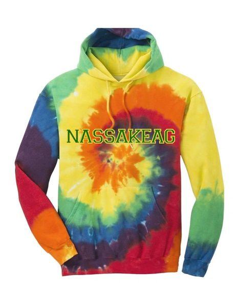 Tie-Dye Hoodie: RAINBOW