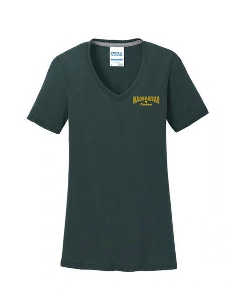 Nassakeag Cares T-shirt: V-NECK