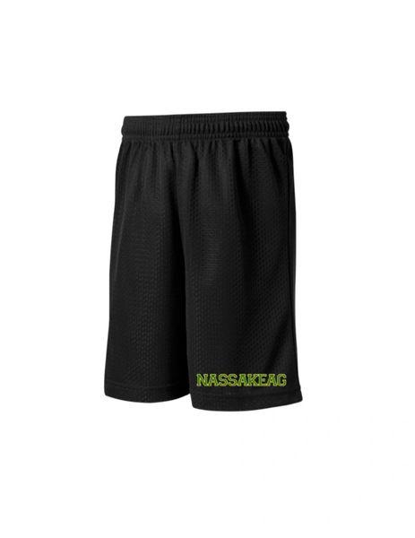 Shorts: Classic Black Mesh