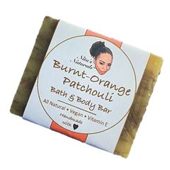 Bath Bar - Burnt-Orange Patchouli