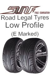 Sun F Sport Tyre 185-30-14 Road Legal Quad Bike Tyres