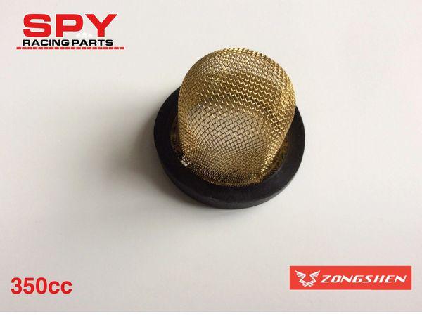 Zhongshen 350cc Oil Drain Filter-Spy 350 F1-Spyracing -Road legal quad bike Engine parts