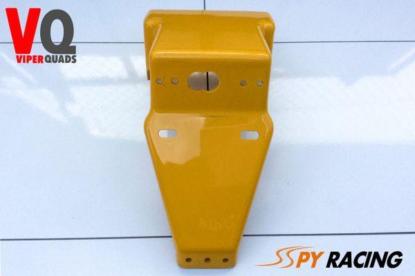 Spy 250/350F1-A, Rear Brake Light Holder (Yellow). Road Legal Quad Bikes-Spyracing Body Parts