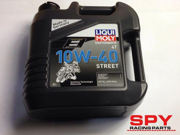 Spy F3-250/350 (LIQUI MOLY 10W-40 Semi Synthetic Engine Oil) 4L, Road Legal Quad Bike Part