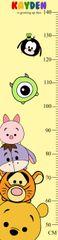 Tsum Tsum Growth Chart