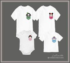 Tsum Tsum illustrated Pocket Design