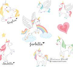 Unicorn World (8 Designs)