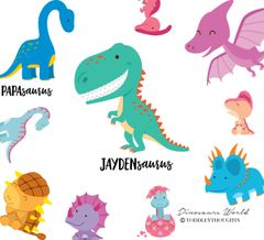 Dinosaurs World (16 Designs)