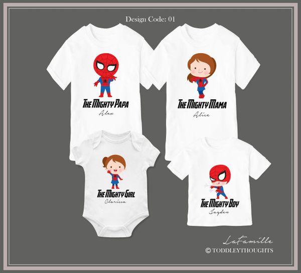2019 Spider-Family (3 designs)