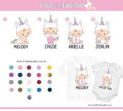 3. Baby Girl Unicorn