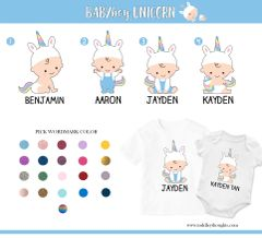 4. Baby Boy Unicorn