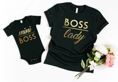 8. Boss Lady & Mini Boss [Mommy & Me Per Set]