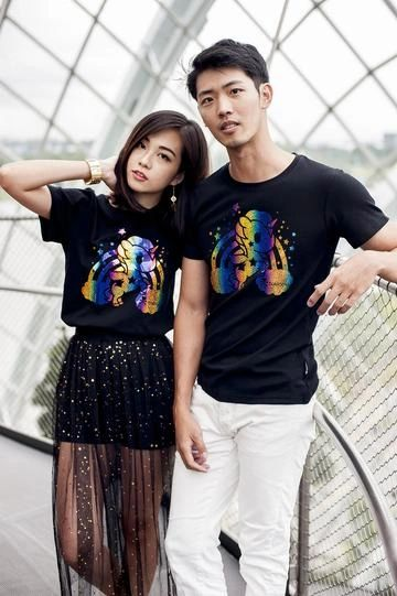 Tokidoki Cosmo: Rainbow Unicorn Adult Tee