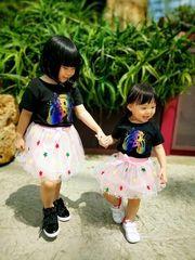 Tokidoki Cosmo: Rainbow Unicorn Kids Tee