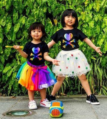 Tokidoki Cosmo: Rainbow Logo Kids