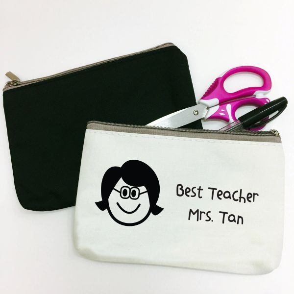 Iconic Head Personalised Pouch (Select own design)