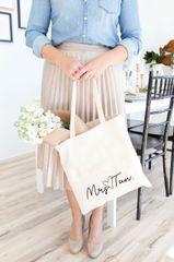 [Customise] Signature Name Tote Bag
