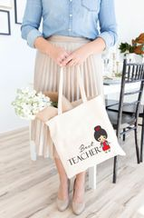[Customise] Little Red Girl Tote