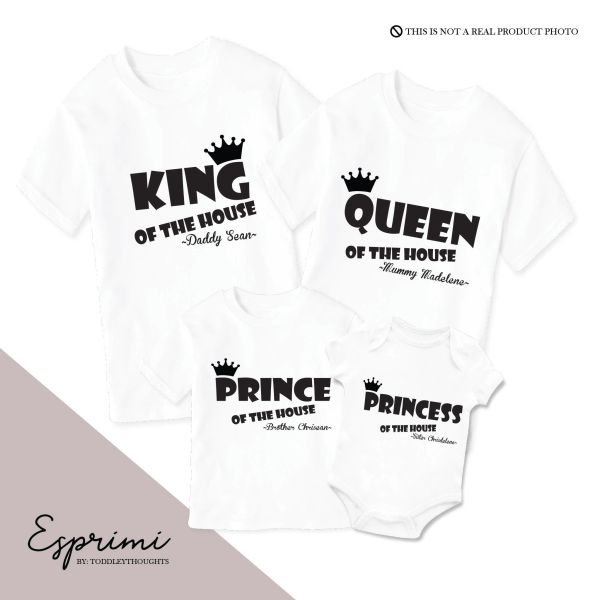 Royal Family ESP013 (select own color)