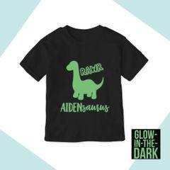 Dino II*Glow in the dark [T-shirt or Onesie]