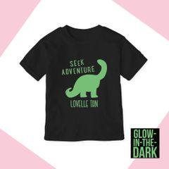 Seek Adventure*Glow in the dark [T-shirt or Onesie]