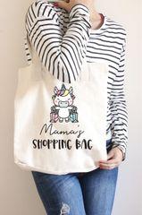 [Customise] Mama Shopping Tote Bag