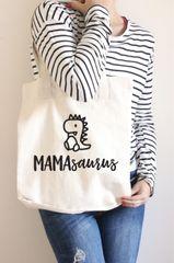 [Customise] Mamasaurus Tote Bag