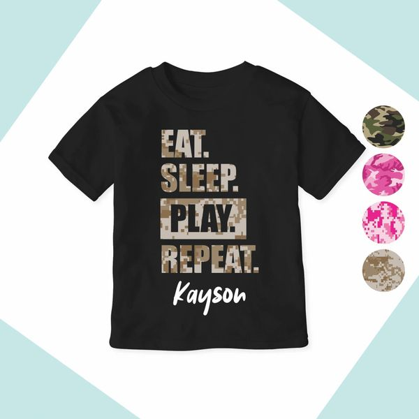 Eat Sleep PLAY Repeat [Standard Design]